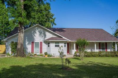 Cantonment Single Family Home For Sale: 3208 Copper Ridge Cir