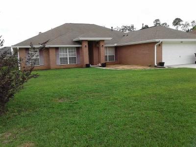Milton Single Family Home For Sale: 4869 Jaimee Leigh Dr
