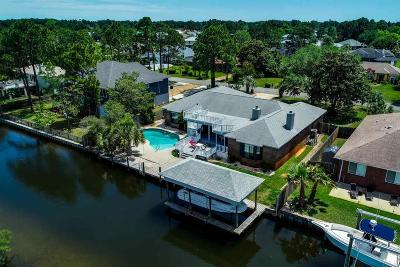 Gulf Breeze Single Family Home For Sale: 3014 Coral Strip Pkwy