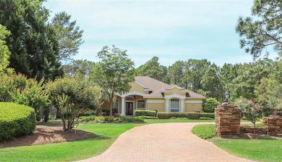 Gulf Breeze Single Family Home For Sale: 4223 Soundside Dr