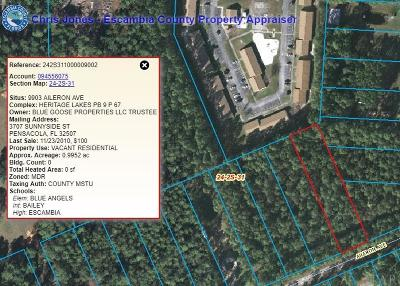 Pensacola Residential Lots & Land For Sale: 9903 Aileron Ave