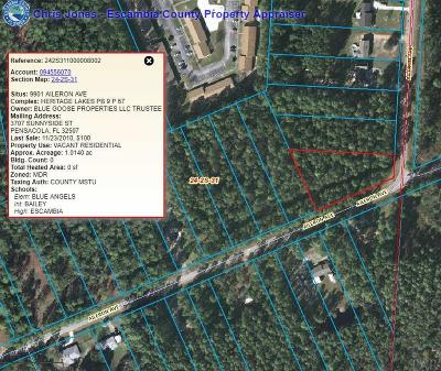 Pensacola Residential Lots & Land For Sale: 9901 Aileron Ave