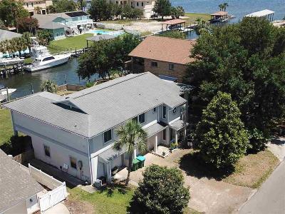 Gulf Breeze Single Family Home For Sale: 1114 Seabreeze Ln