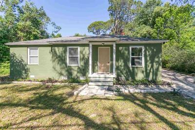 Pensacola Single Family Home For Sale: W 601 Sunset Ave