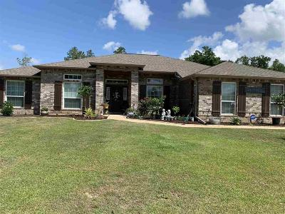 Pace Single Family Home For Sale: 3942 Flour Mill Cir