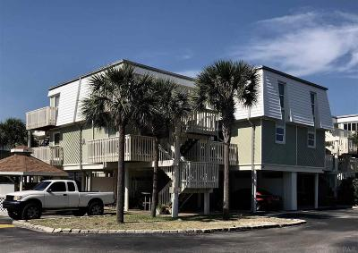 Pensacola Beach Condo/Townhouse For Sale: 1100 Ft Pickens Rd #A-14