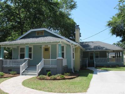 Pensacola Single Family Home For Sale: E 1110 Bobe St