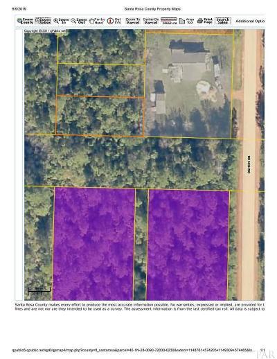 Milton Residential Lots & Land For Sale: Blk720lot23-24 Damon Dr