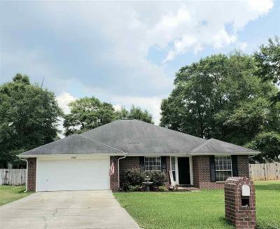 Milton Single Family Home For Sale: 5240 Hawks Nest Dr