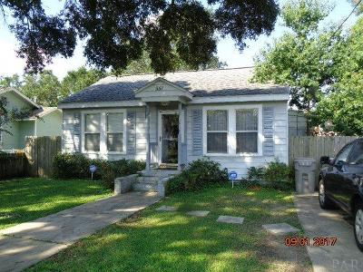 Pensacola Single Family Home For Sale: S 551 1st St