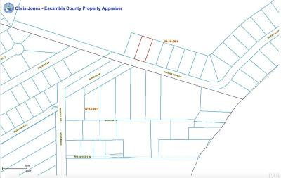 Pensacola Residential Lots & Land For Sale: 3600 Blk Mackey Cove Dr
