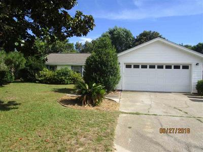 Gulf Breeze Rental For Rent: 3469 Sycamore Ln