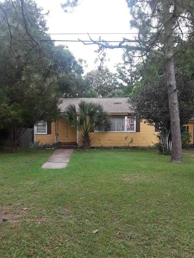 Pensacola Single Family Home For Sale: E 1704 Cross St