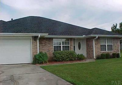 Cantonment Single Family Home For Sale: 2032 Jason Dr