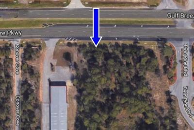 Gulf Breeze Residential Lots & Land For Sale: 6051 Gulf Breeze Pkwy