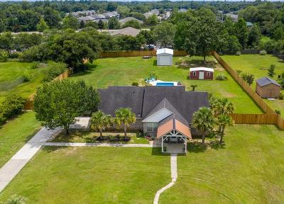 Pace Single Family Home For Sale: 3645 Gardenview St