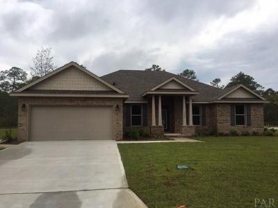 Pensacola Single Family Home For Sale: 9899 Pandion Trl #Lot 24