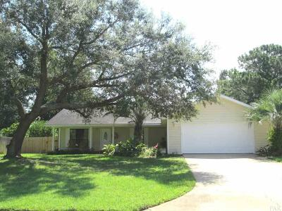Gulf Breeze Single Family Home For Sale: 3920 Paradise Bay Dr