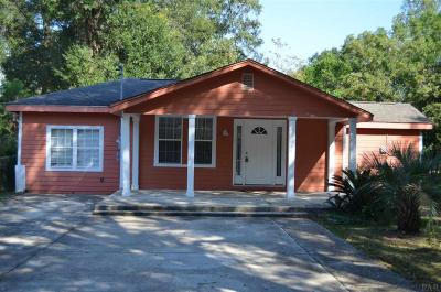 Pensacola Single Family Home For Sale: N 730 70th Ave