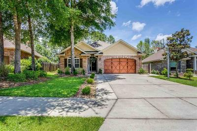 Pensacola, Pensacola Beach, Perdido, Perdido Key, Bagdad, Gulf Breeze, Milton, Munson, Navarre, Navarre Beach, Pace Single Family Home For Sale: 8873 Marsh Elder Dr