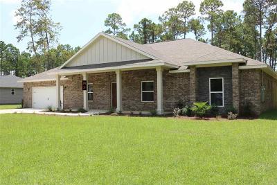 Milton Single Family Home For Sale: Siripon Rd