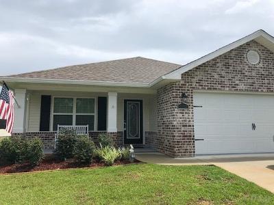 Milton Single Family Home For Sale: 5093 Teresa Dr