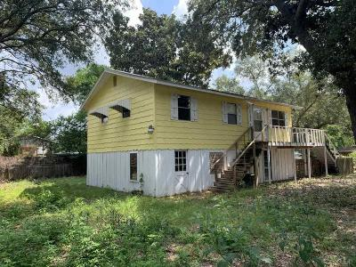 Pensacola FL Single Family Home For Sale: $140,000