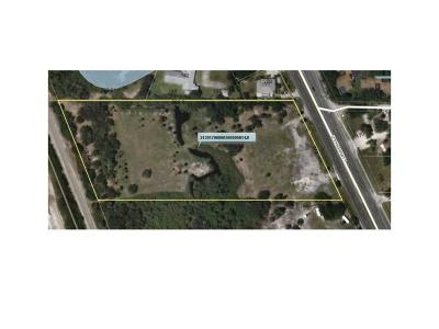 Sebastian FL Residential Lots & Land For Sale: $1,015,000