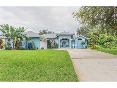 Sebastian Single Family Home For Sale: 268 Concha Drive
