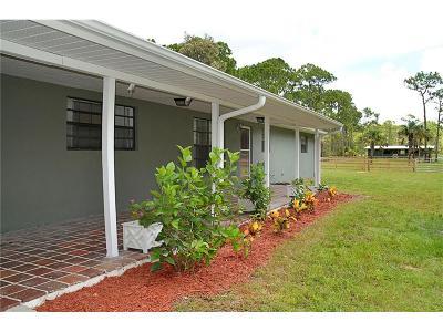 Vero Beach Single Family Home For Sale: 6150 37th Street