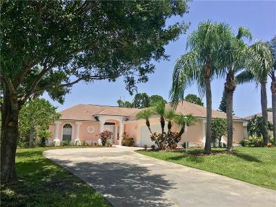 Sebastian Single Family Home For Sale: 111 Justine Drive