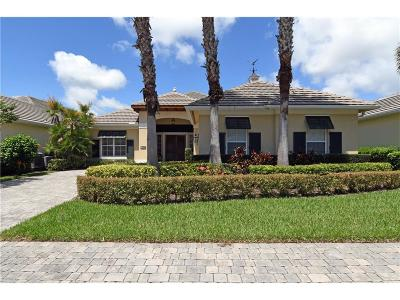 Vero Beach Single Family Home For Sale: 9155 Spring Time Drive