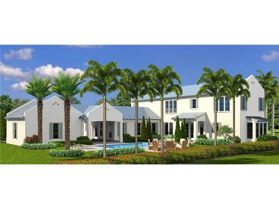 Vero Beach FL Single Family Home For Sale: $2,150,000