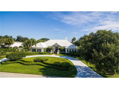 Vero Beach FL Single Family Home For Sale: $1,695,000