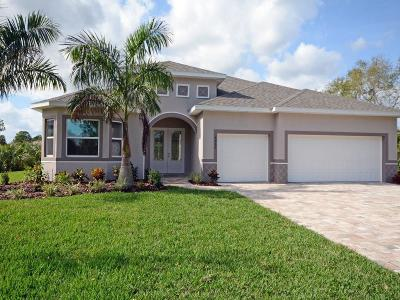 Vero Beach Single Family Home For Sale: 6015 Sequoia Circle