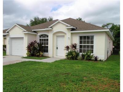 Vero Beach FL Single Family Home C-Backups Requested: $175,000