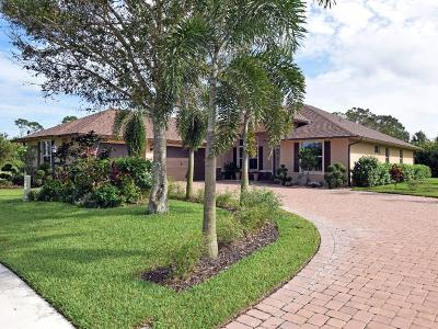 Sebastian Single Family Home For Sale: 816 Yearling Trail