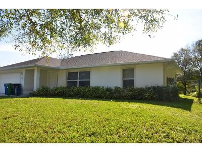 Sebastian Single Family Home For Sale: 738 George Street