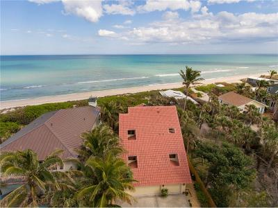 Single Family Home For Sale: 12968 Highway A1a