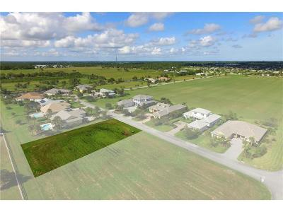 Vero Beach Residential Lots & Land For Sale: 7647 S Polo Grounds Lane