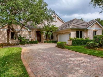 Vero Beach Single Family Home For Sale: 160 North White Jewel Court