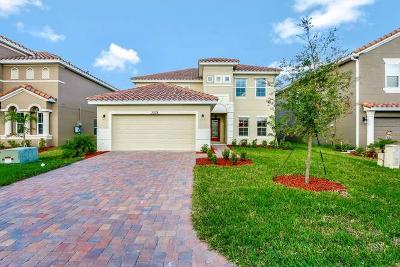 VERO BEACH Single Family Home For Sale: 3366 Burlington Place