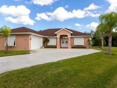 Vero Beach Single Family Home For Sale: 6445 36th Place