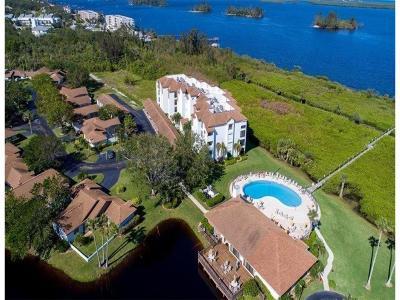 Sebastian Condo/Townhouse For Sale: 6240 E Mirror Lake Drive #405