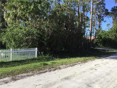 Vero Beach Residential Lots & Land For Sale: 19th Avenue SW