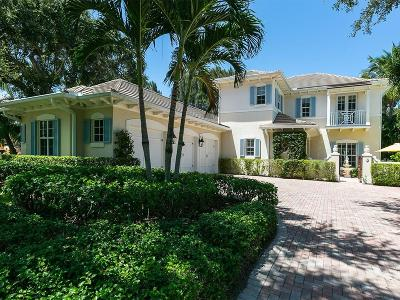 Palm Isl Plantation Single Family Home For Sale: 416 N Palm Island Circle
