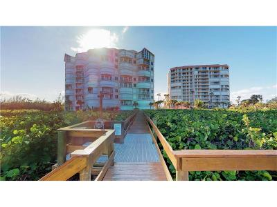 Fort Pierce Condo/Townhouse For Sale: 3870 N Hwy A1a #106
