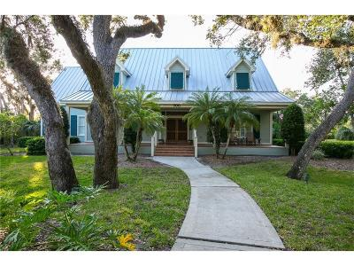 Indian River Shores Single Family Home For Sale: 700 Canoe Trail