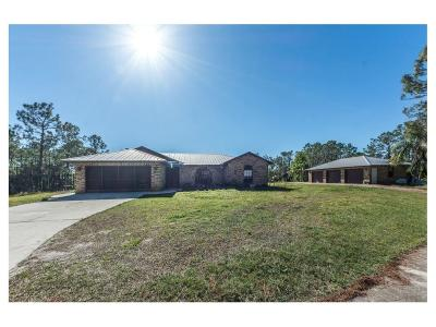 Fellsmere Single Family Home For Sale: 12525 79th Street