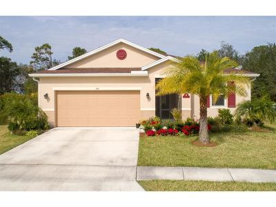 Sebastian Single Family Home For Sale: 144 Port Royal Court